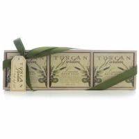 Tuscan garden bath soap set