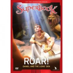 superbook Dvd - daniel & the Lions Den