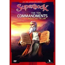 superbook Dvd - The Ten Commandments