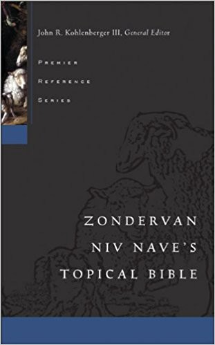Zondervan NIV Nave's Topical Bible