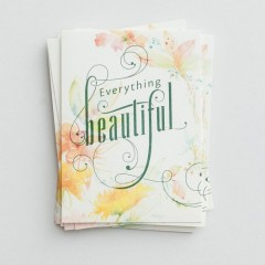 Notes With Scripture - Everything Beautiful