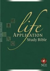 Life application bible/ large print NLT